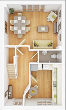 Taylor-Wimpey-Belbury-3-bed-3D-GF-Floorplan