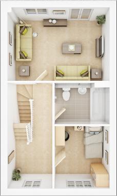 Taylor-Wimpey-Belbury-3-bed-3D-FF-Floorplan