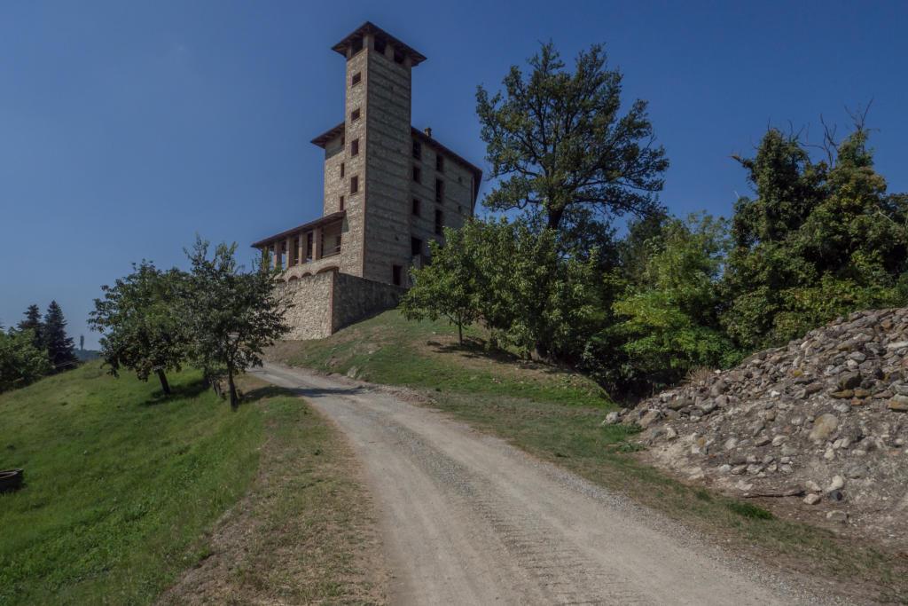 Castle in Piedmont, Alessandria