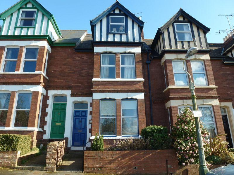 4 Bedroom Terraced House For Sale In Belmont Park Exeter Ex1