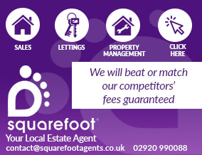 Get brand editions for SquareFoot Estate Agents Ltd, Cardiff