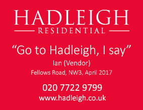Get brand editions for Hadleigh Residential, Belsize Grove