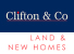 Clifton & Co Land & New Homes, Dartford logo