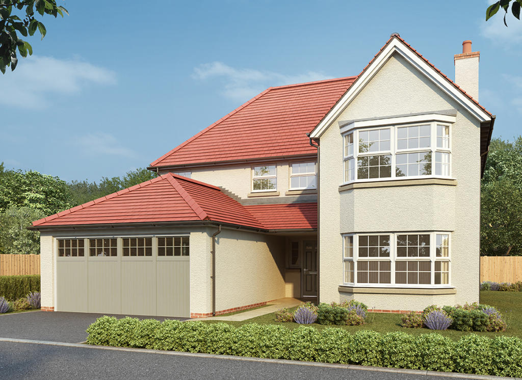 Redrow,Front Elevation