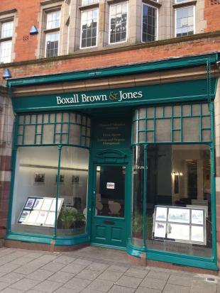 Boxall Brown & Jones, Derbybranch details