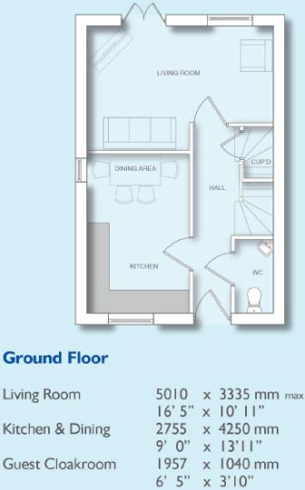 Worcester Floor Plan