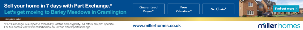 Get brand editions for Miller Homes North East, Barley Meadows, Cramlington