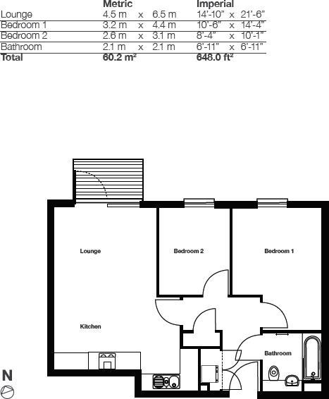 5 Lindsay Floorplan