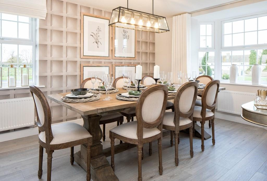 David Wilson Homes,Dining room