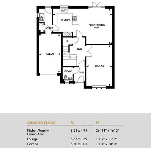 The Darroch, Ground Floor