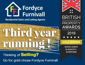 Get brand editions for Fordyce Furnivall, Bishop's Stortford