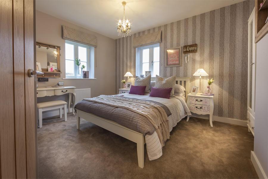 Lovell Homes,Secondary Bedroom