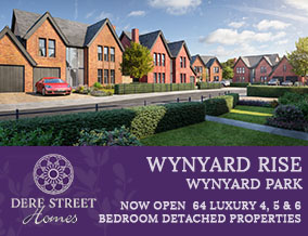 Get brand editions for Dere Street Homes Ltd, Wynyard Rise