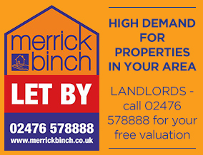 Get brand editions for Merrick Binch Lettings, Coventry