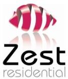 Zest Residential, Milton Keynes branch logo