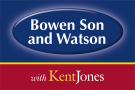 Bowen Son and Watson with Kent Jones, Oswestry branch logo
