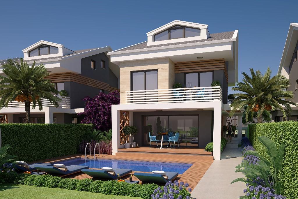 new development in Çalis, Fethiye, Mugla