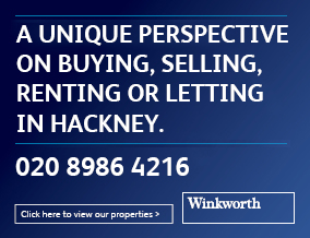 Get brand editions for Winkworth, Hackney