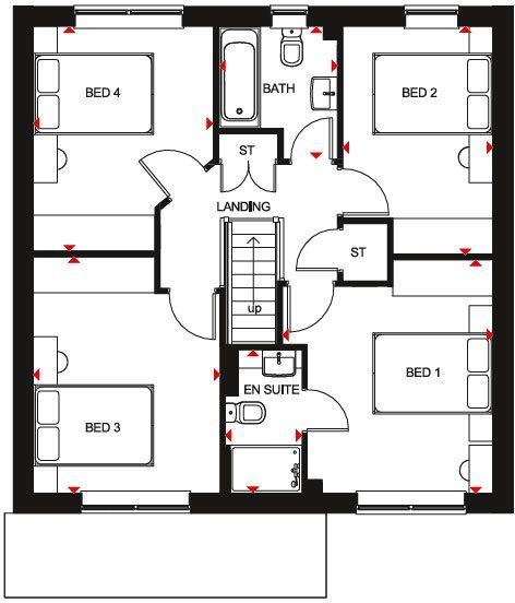 Kennford first floor plan