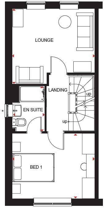 Hawley first floor plan
