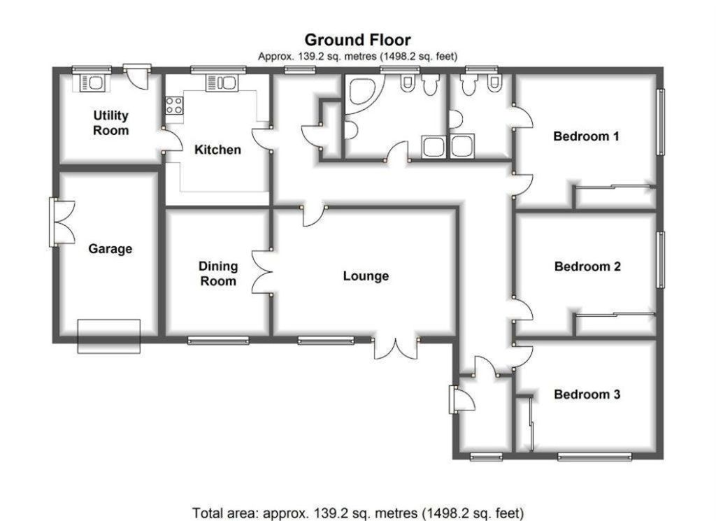 Dormer Bungalow Floor Plans Uk Thefloors Co