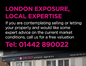 Get brand editions for Orchid Estate Agents, Boxmoor, Hemel Hempstead & Tring