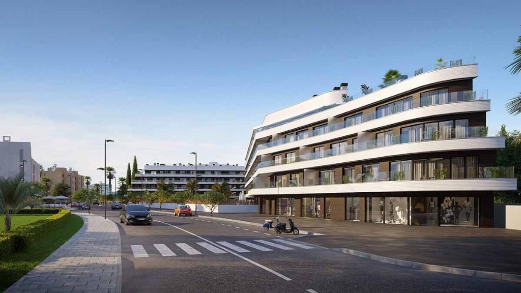 new development for sale in Playa D'en Bossa, Ibiza...