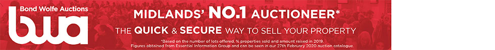 Get brand editions for Bond Wolfe Auctions, Birmingham