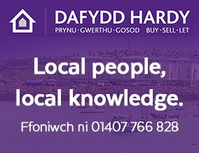 Get brand editions for Dafydd Hardy, Holyhead