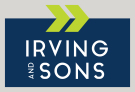 Irving & Sons, Verwood logo