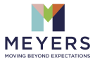 Meyers Estate Agents, Covering Poundbury logo