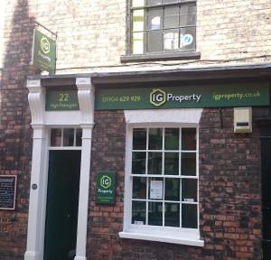 I G Property, Yorkbranch details