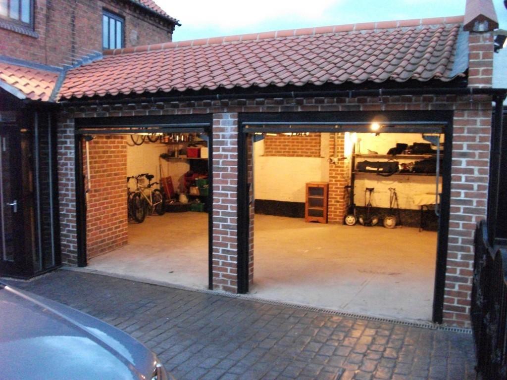 detached garage ideas uk - Black Double Garage Design Ideas s & Inspiration