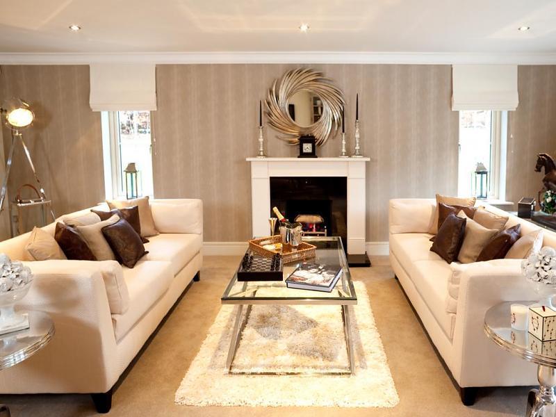Fireplace Sofa Living Room Design Ideas, Photos ...
