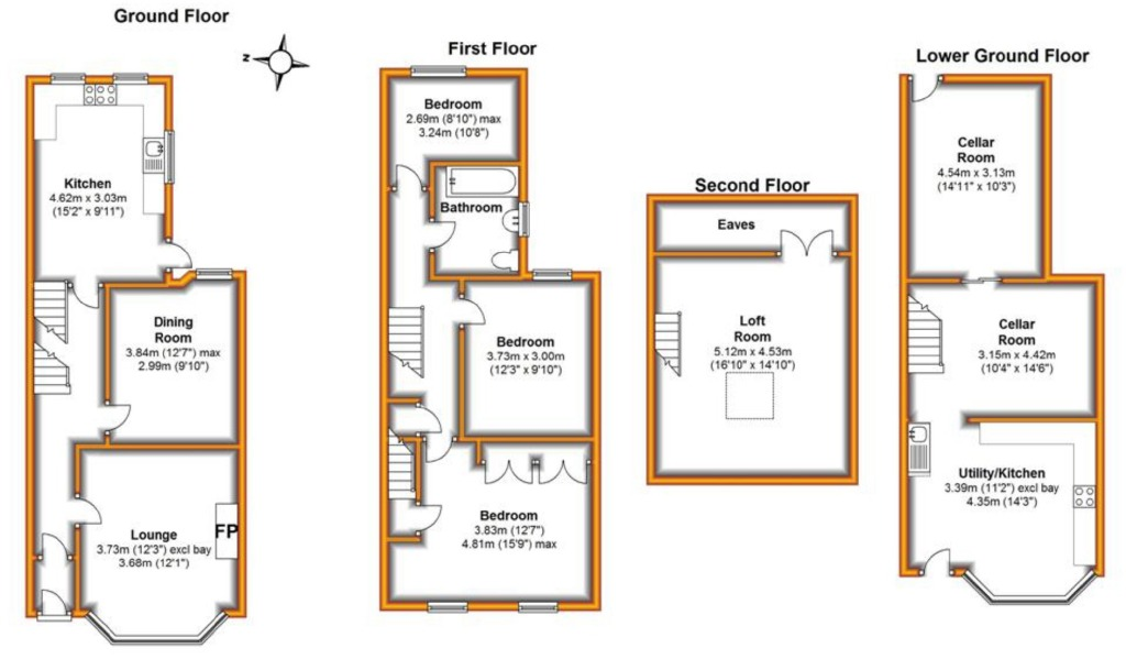 Plans For Loft Conversions Terraced Houses Home Design