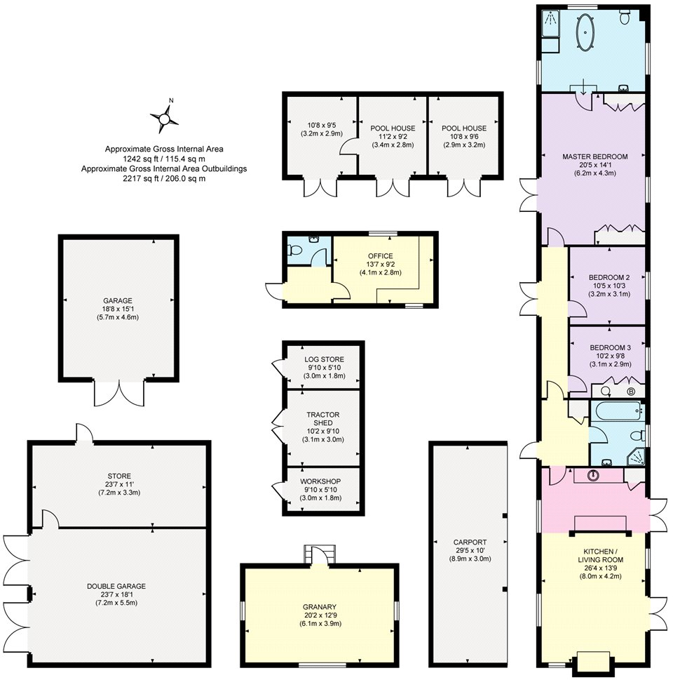 Floorplan Barn