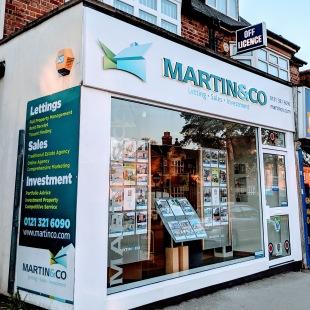 Martin & Co, Sutton Coldfieldbranch details