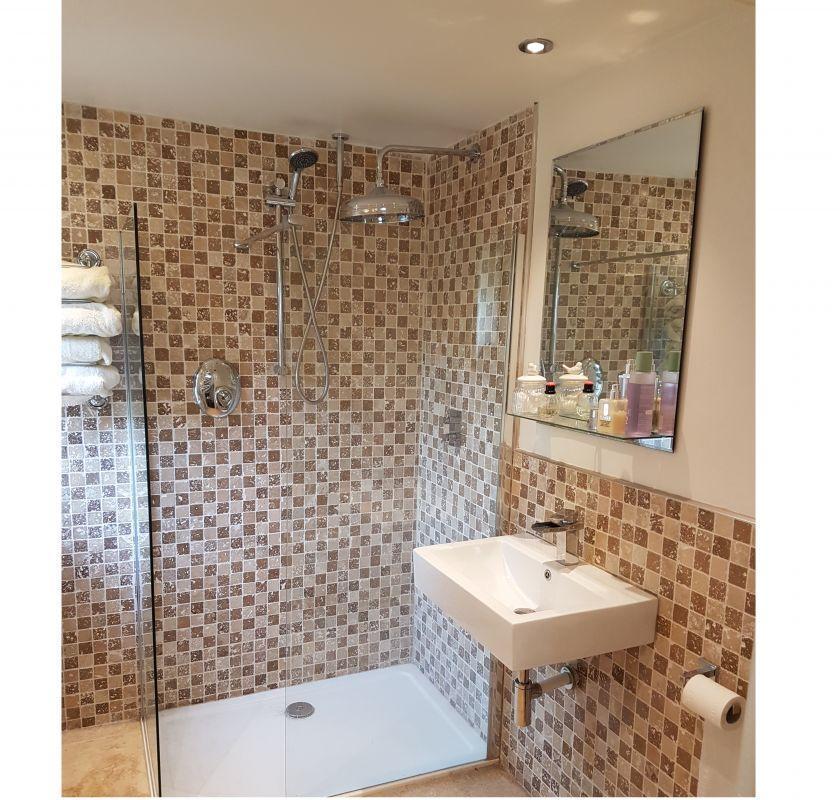Travertine,Bathroom detail
