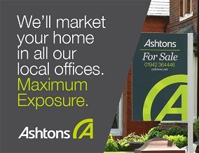Get brand editions for Ashtons Estate Agency, Newton-le-Willows