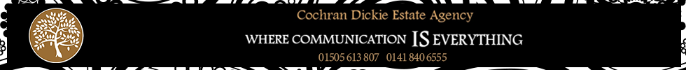 Get brand editions for Cochran Dickie Estate Agency, Paisley