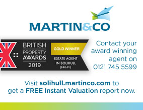Get brand editions for Martin & Co, Solihull- Lettings & Sales