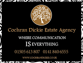 Get brand editions for Cochran Dickie Estate Agency, Bridge Of Weir