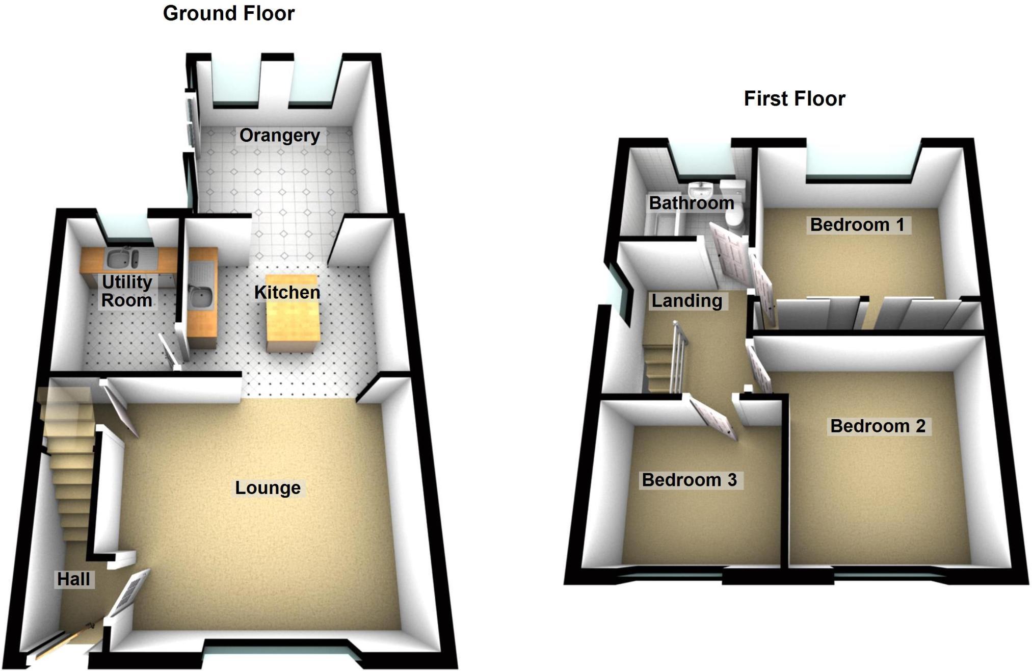 100 Terraced House Floor Plans Colors – British House Floor Plans