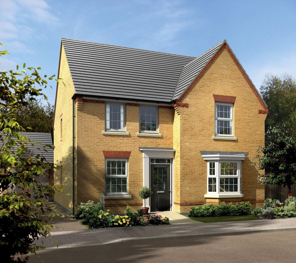 Four Square Floor Plan 4 Bedroom Detached House For Sale In Meynell Road Quorn