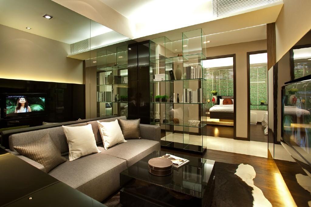 Brown Olive Living Room Design Ideas, Photos & Inspiration ...