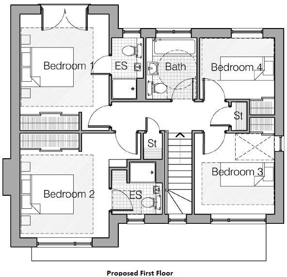 Proposed House Pl...