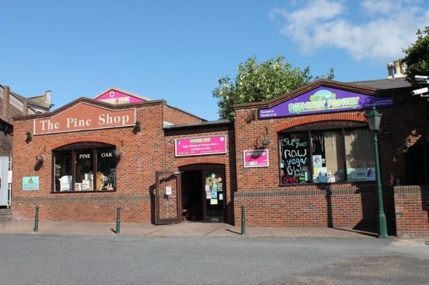 Eastbourne Station Car Park Entrance