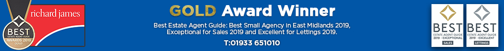 Get brand editions for Richard James Estate Agents, Irthlingborough