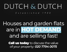Get brand editions for Dutch & Dutch, West Hampstead