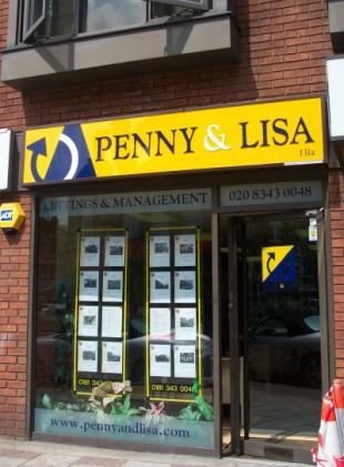 Penny And Lisa Lettings And Management, Finchleybranch details